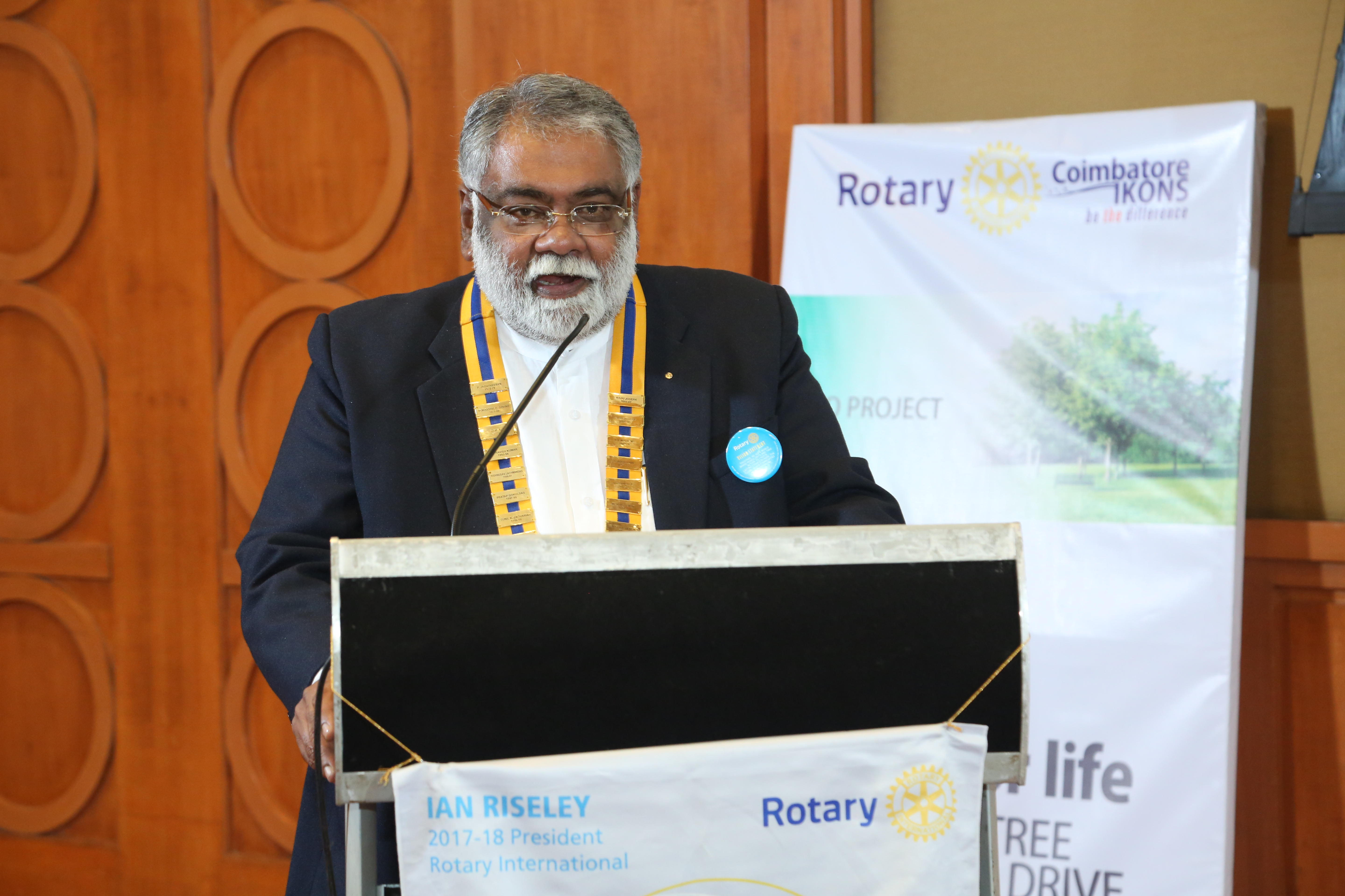 Speaker Meeting - RTN Vinod Krishnan Kutty